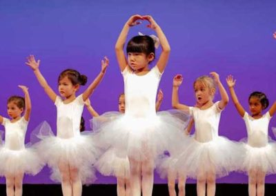 Small Fry Dance Club - Ballet Class On Stage